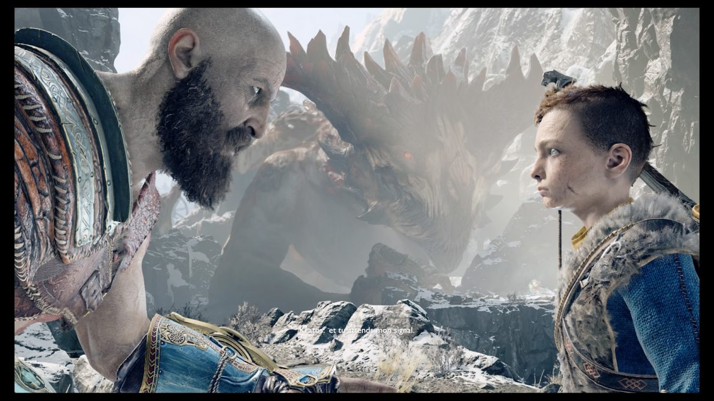 God of War - Kratos et son fils Atreus