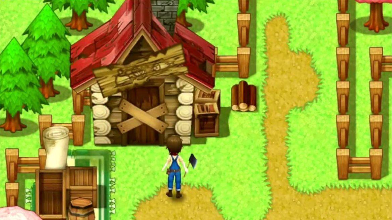 Harvest Moon Lumière d'Espoir maison