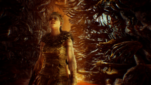 HellBlade: Senua's Sacrifice chemin de mains