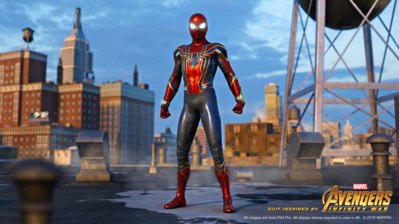 Spider-Man Iron suit