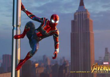 Spider-Man Iron suit