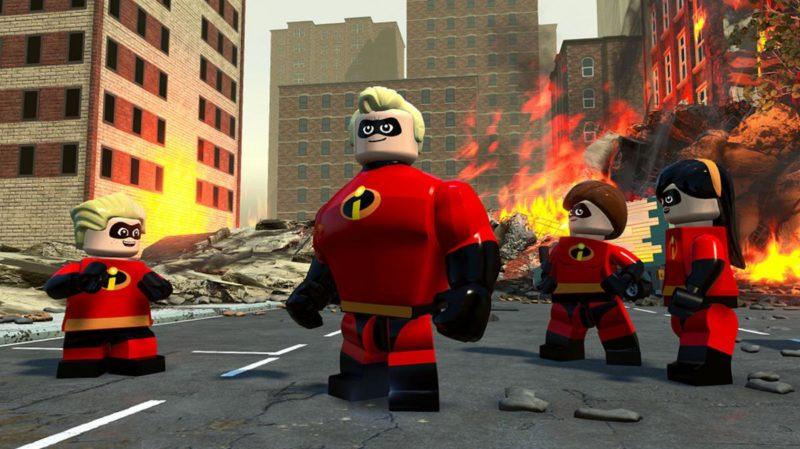 Lego Les Indestructibles la famille Parr