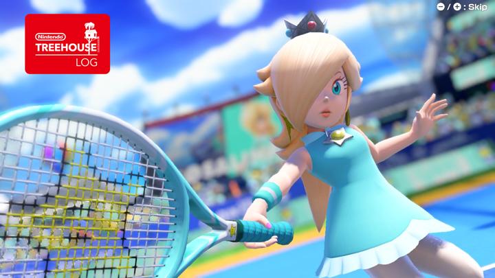 Mario Tennis Aces - Rosalina