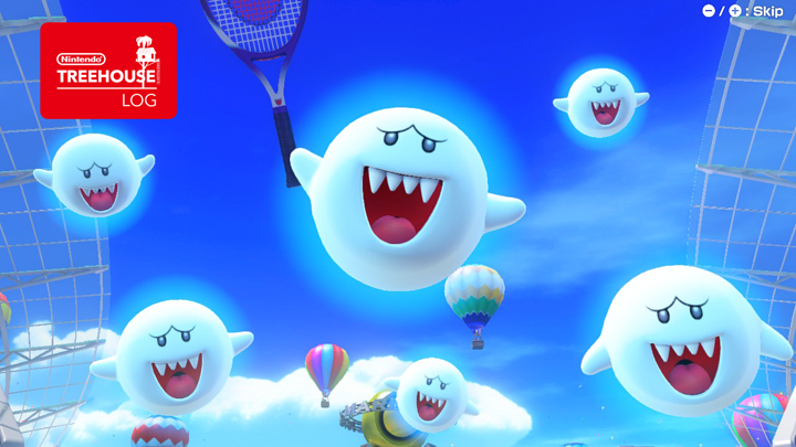 Mario Tennis Aces - Boo