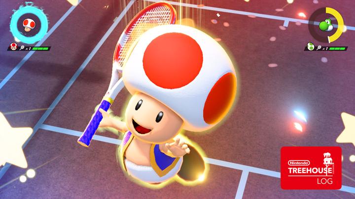 Mario Tennis Aces - Toad