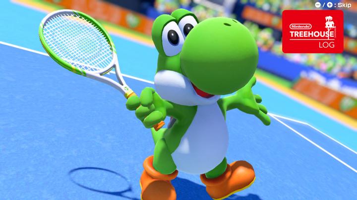 Mario Tennis Aces - Yoshi