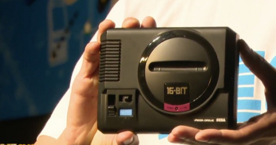 Mega Drive Mini - en main