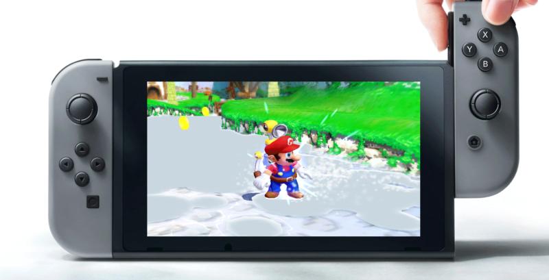 Nintendo Switch Super Mario Sunshine