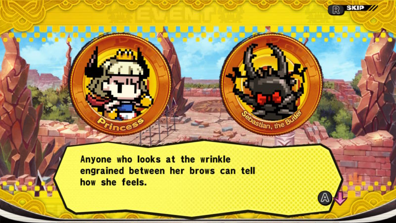 Penny Punching Princess - Exposition