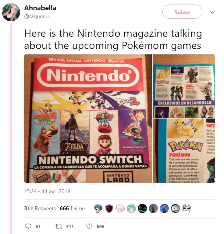Pokémon Switch - Pokémon Magazine
