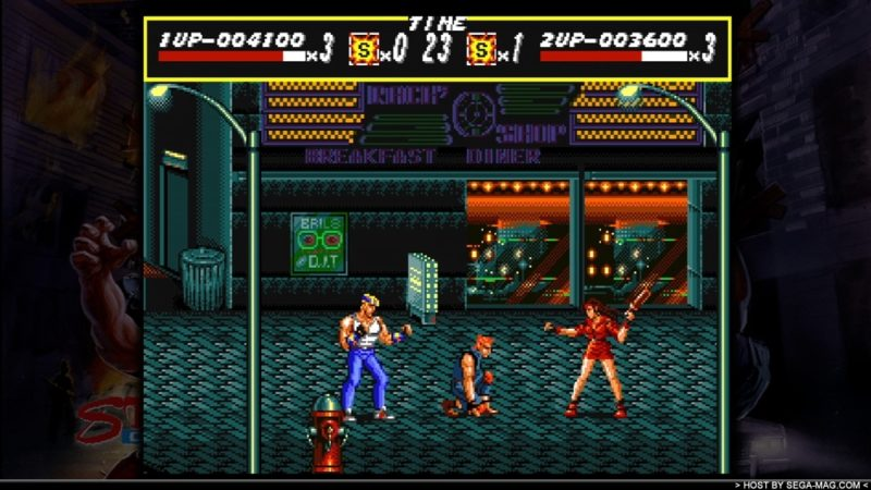 Sega Vintage Collection : Streets of Rage Games with Gold