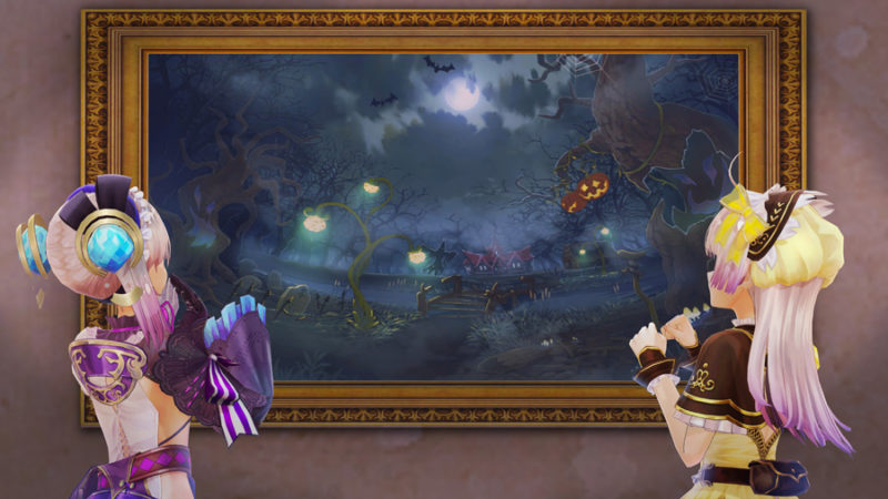 Atelier Lydie & Suelle: Alchemists of the Mysterious Painting spooky forest