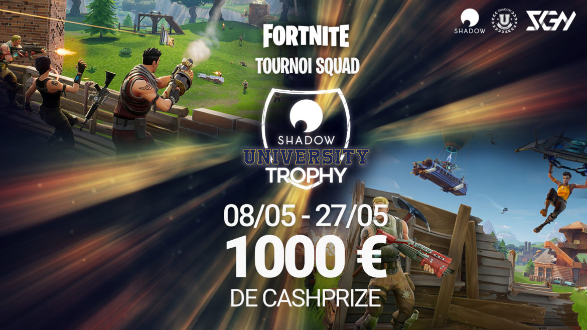 Shadow University Trophy Fortnite