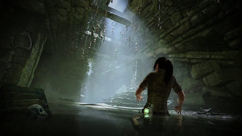 Shadow of the Tomb Raider Lara exploration