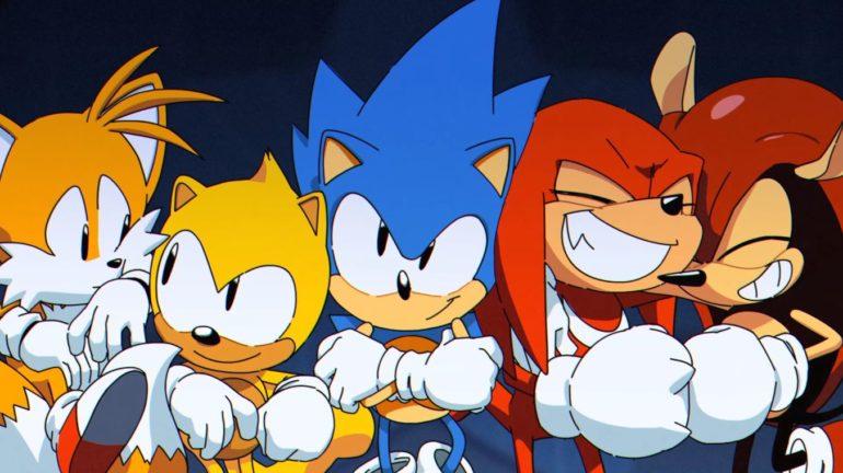 Sonic Mania Plus - screenshot trailer