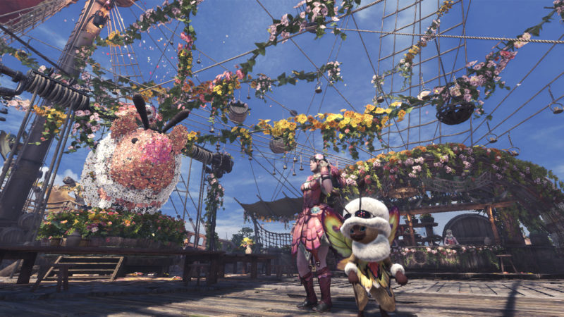 Monster Hunter: World festival du printemps