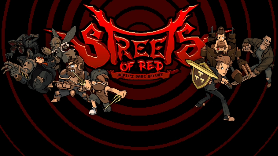 Streets of Red logo personnages