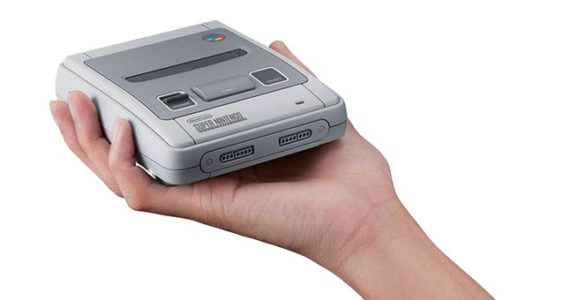 Console Super Nes Mini