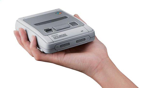Console Super Nes Mini