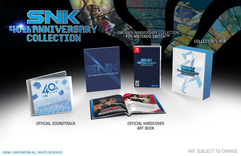 Switch compilation - SNK 40th Anniversary Collection