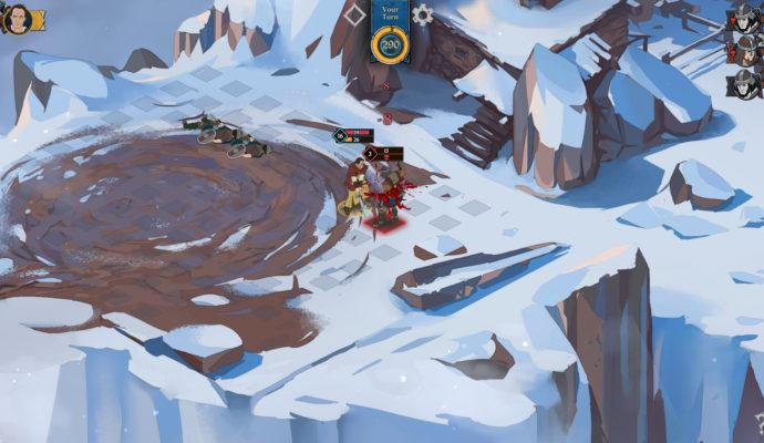 Ash of Gods: Redemption - combat 2