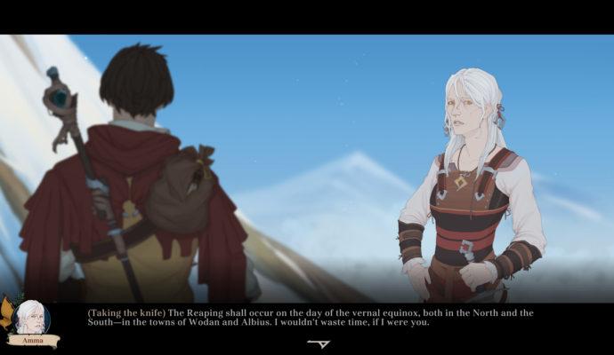 Ash of Gods: Redemption - dialogue 1