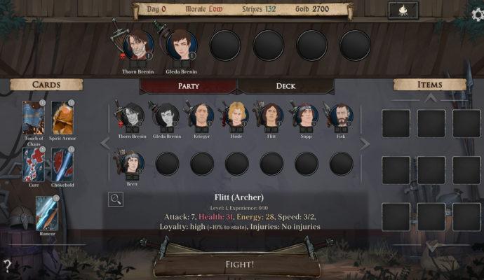 Ash of Gods: Redemption - équipe