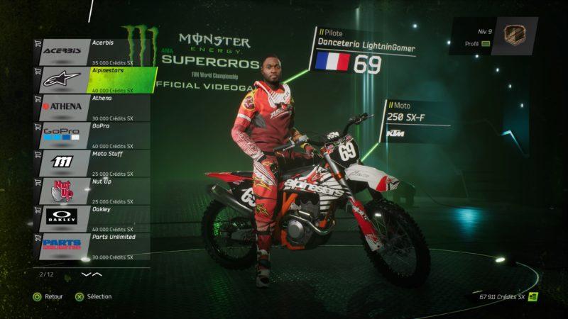 Test Monster Energy Supercross - Danceteria