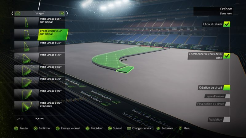 Test Monster Energy Supercross - Création circuits