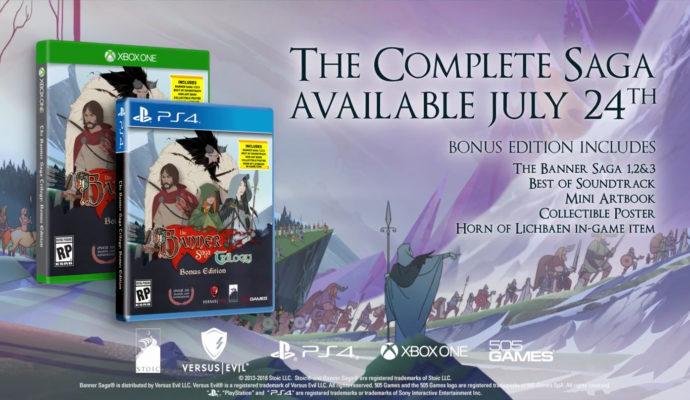 The Banner Saga 3 est attendu pour le 24 juillet…