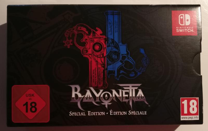 Unboxing Bayonetta Édition Spéciale - face avant
