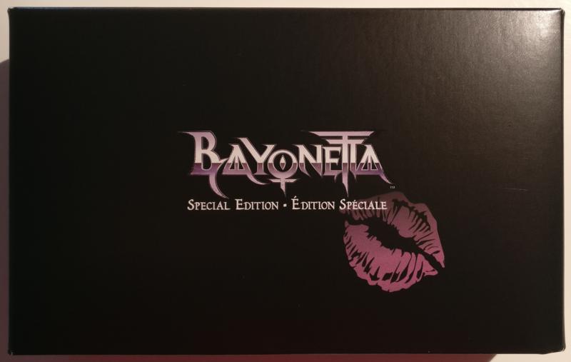 Unboxing Bayonetta Édition Spéciale - fourreau