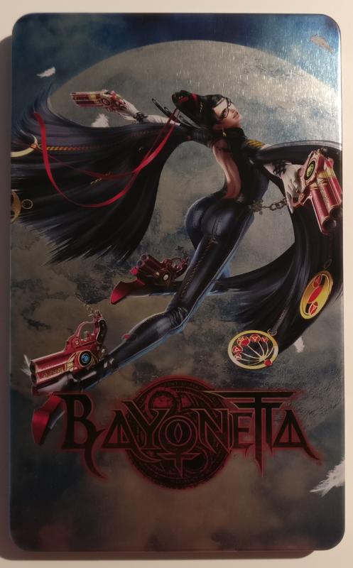 Unboxing Bayonetta Édition Spéciale - steelbook face 1