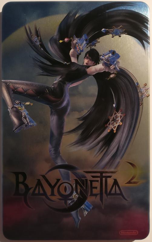 Unboxing Bayonetta Édition Spéciale - steelbook face 2