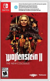 Wolfenstein 2: The New Colossus - jaquette