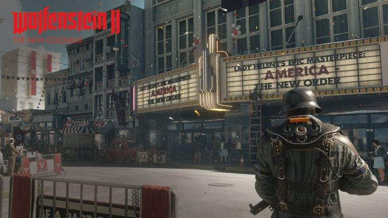 Wolfenstein 2: The New Colossus - tout le monde au cinoche