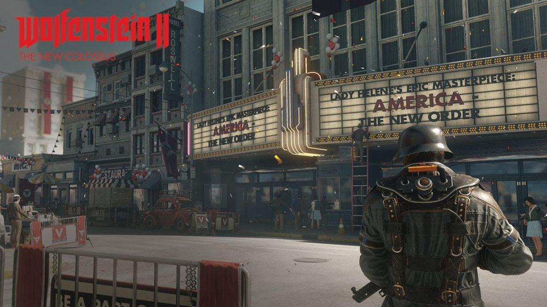 Wolfenstein 2: The New Colossus - tout le monde au cinoche