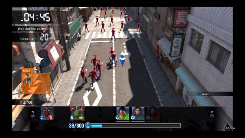 Yakuza 6: The Song of Life jeu clan