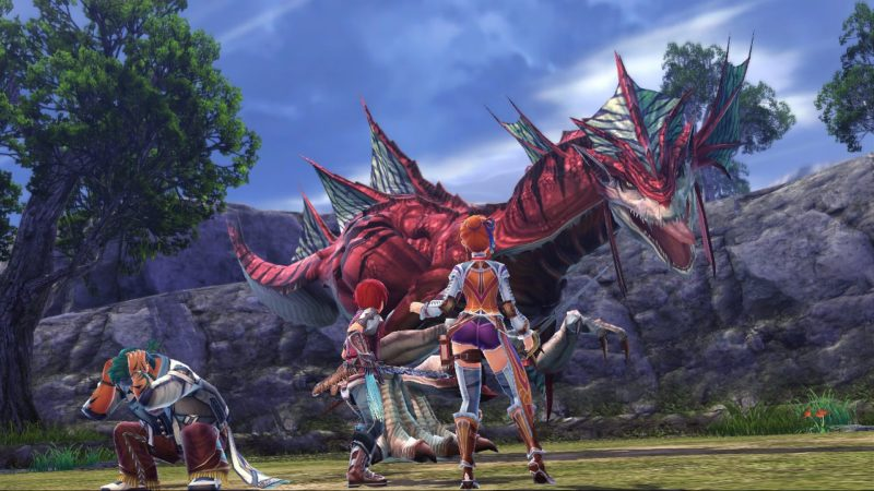 Ys VIII: Lacrimosa of Dana dragon