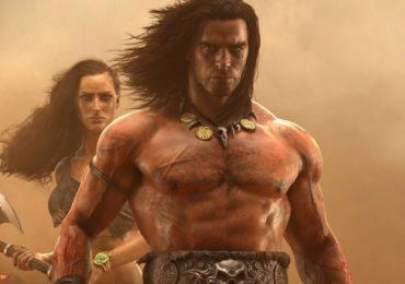 Conan Exiles key art musculeux