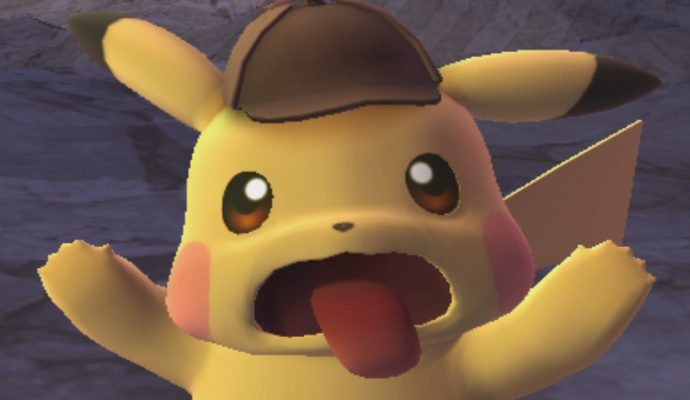 Détective Pikachu - Pikachu fait une grimace