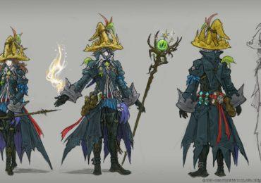 final fantasy XIV illustration