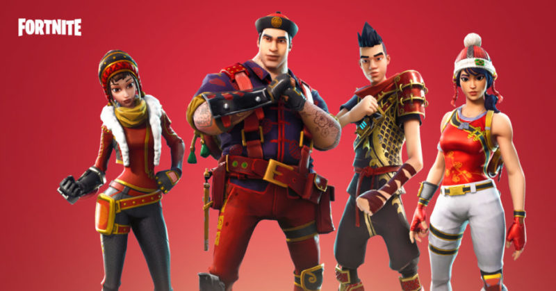 Fortnite - skin nouvel an chinois