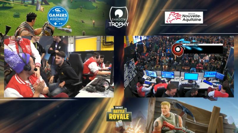 Fortnite - Team Gotaga à la Gamers Assembly