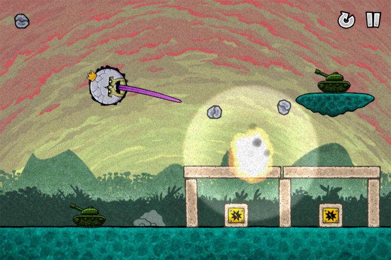 PlayStation Plus King Oddball explosion