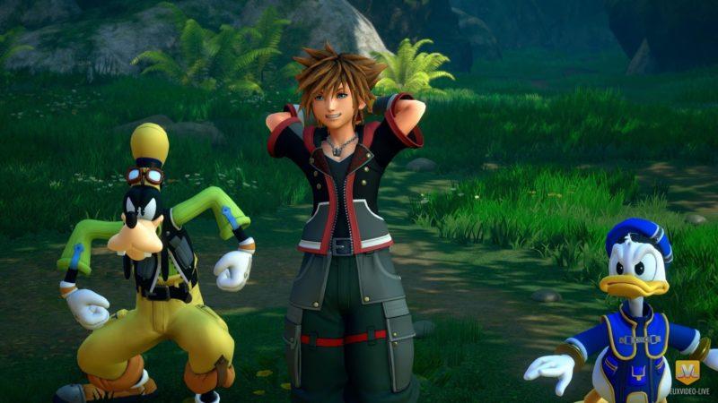 Kingdom Hearts III Sora, Donald et Dingo