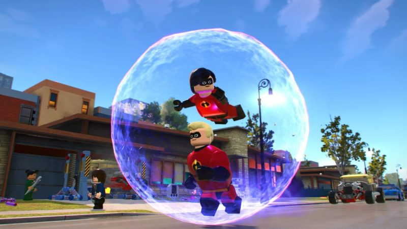 Lego Les Indestructibles Coopération