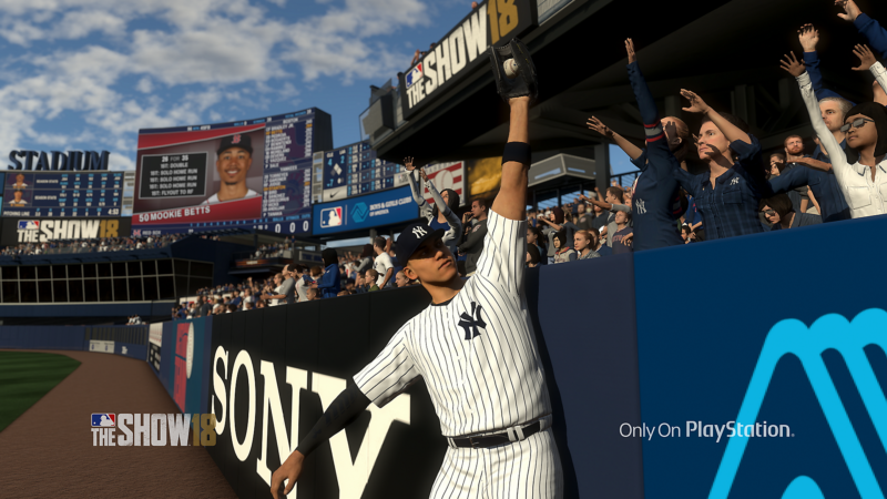 MLB The Show 18 receveur