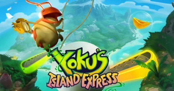 Yoku's Island Express key art