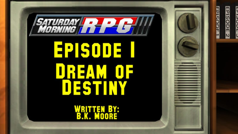 Saturday Morning RPG - carton épisode 1